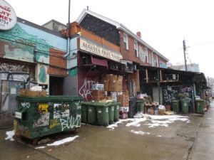 Kensington Market area just west of Chinatown